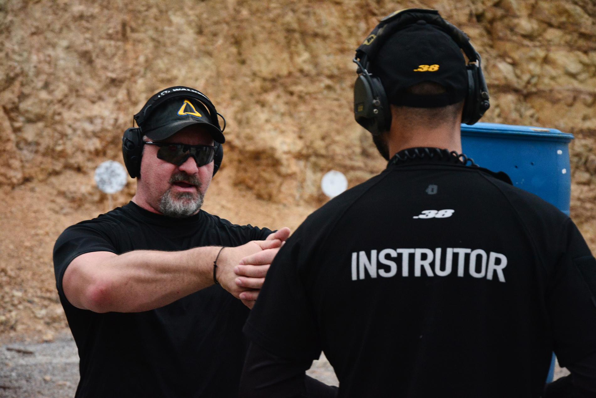 Advanced Pistol e CCC com Troy Fullbright